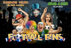 Online slot machines Football Fans