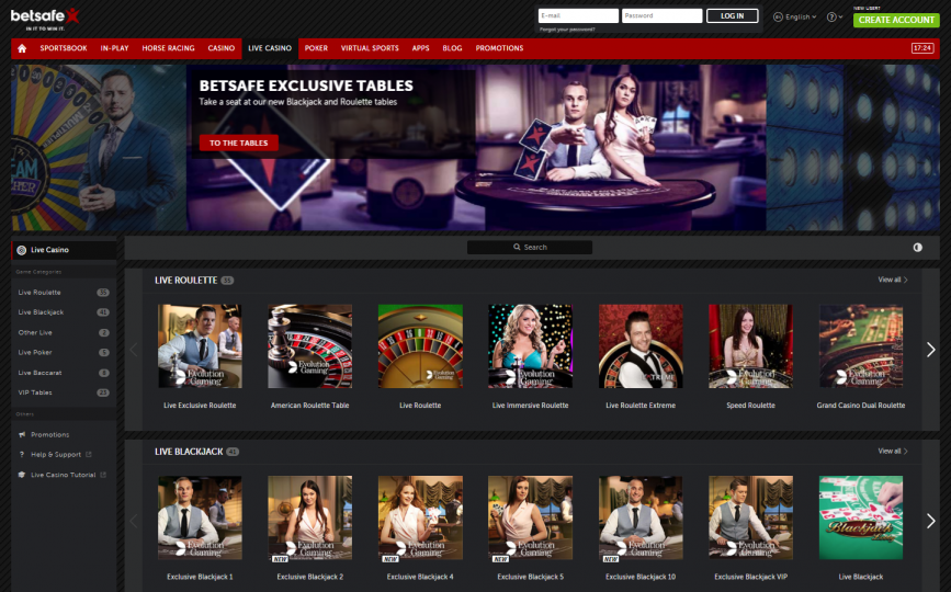 Betsafe online casino review