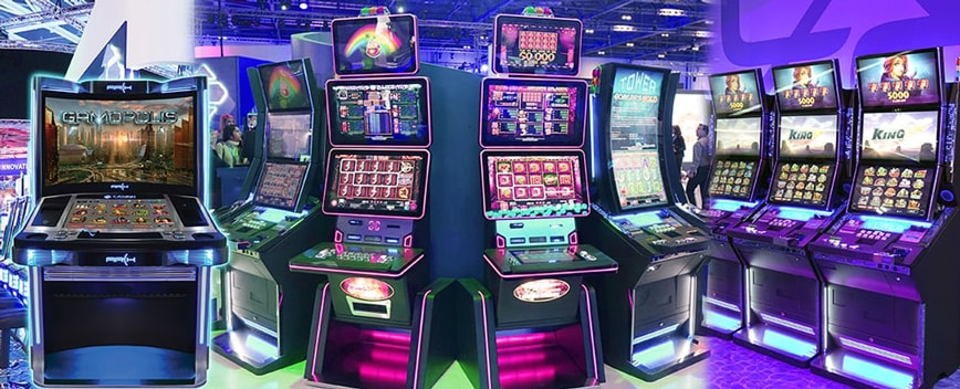Casino Technology slot machine - Ez Modulo