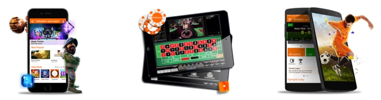 Betsson Casino site versions