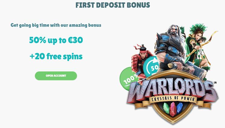 Cashmio first deposit bonus