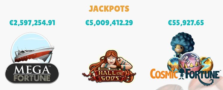 Cashmio Jackpots