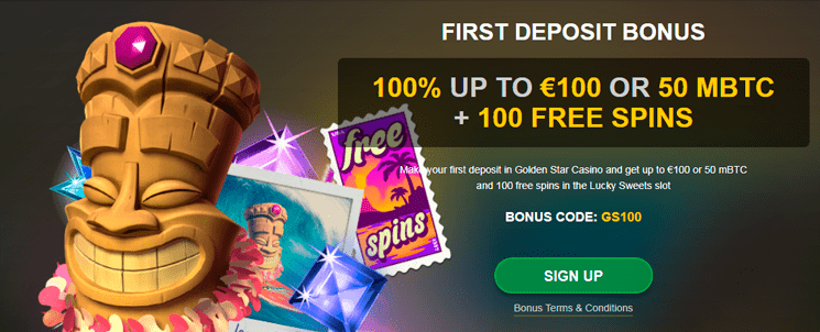 Golden Star casino additional benefits