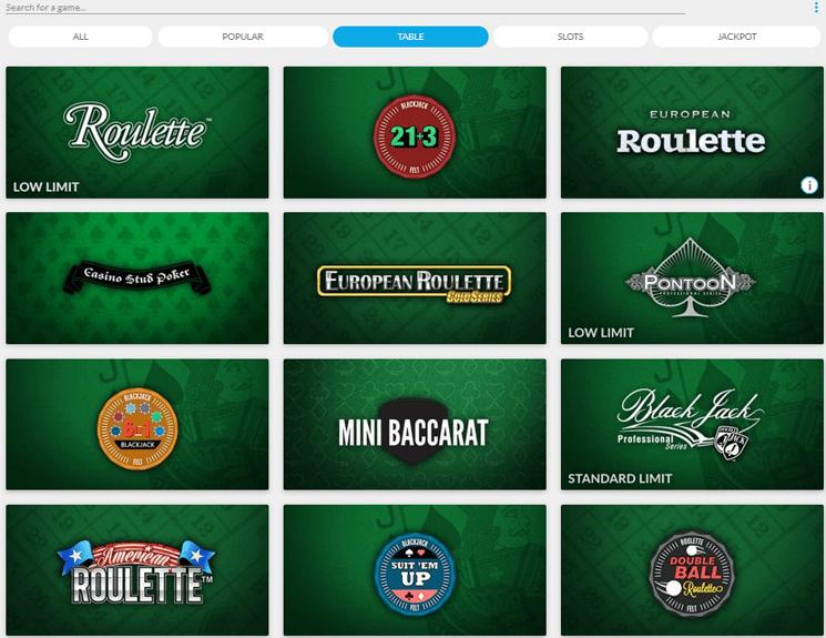 LadyLucks Casino games and slots