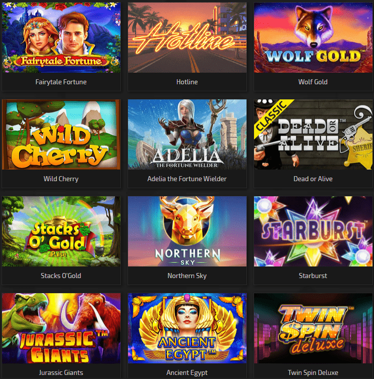 Trada Casino Games and Slot Machines