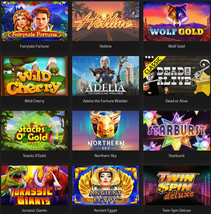 Trada Casino Games and Slot Machines