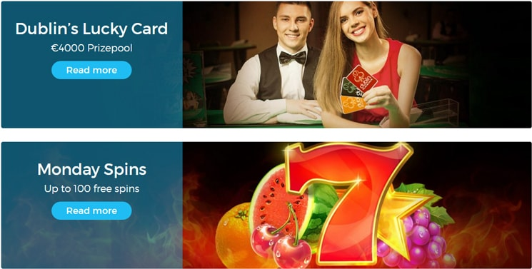 Casino Estrella Bonus programs and promotions