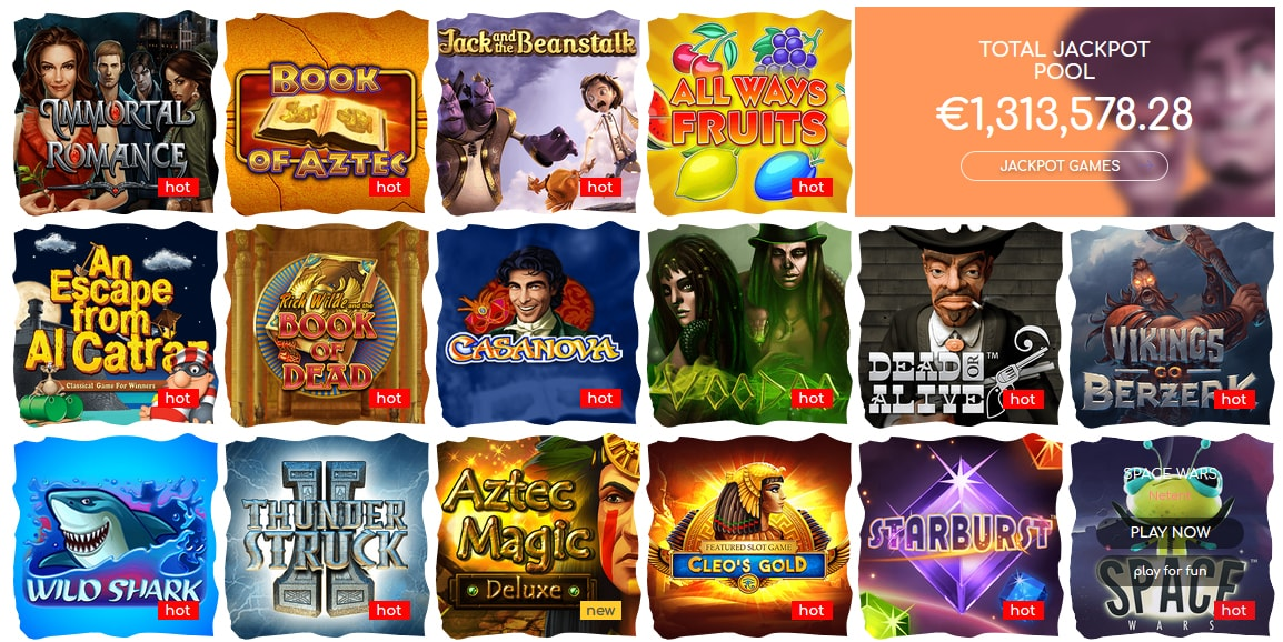 Loki Casino Slot Games