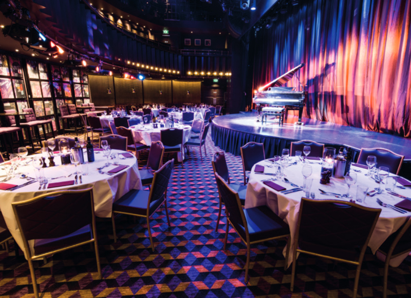 The Hippodrome Casino theatrical stage