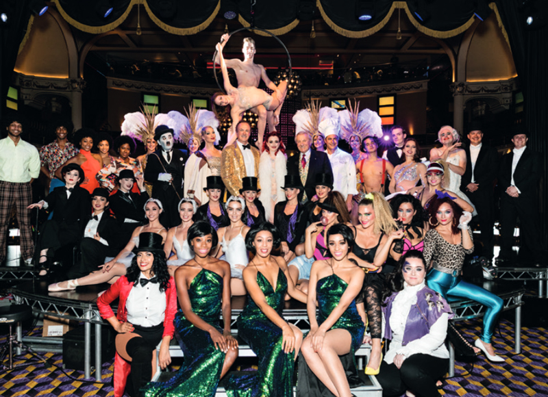 The Hippodrome Casino theatrical performance