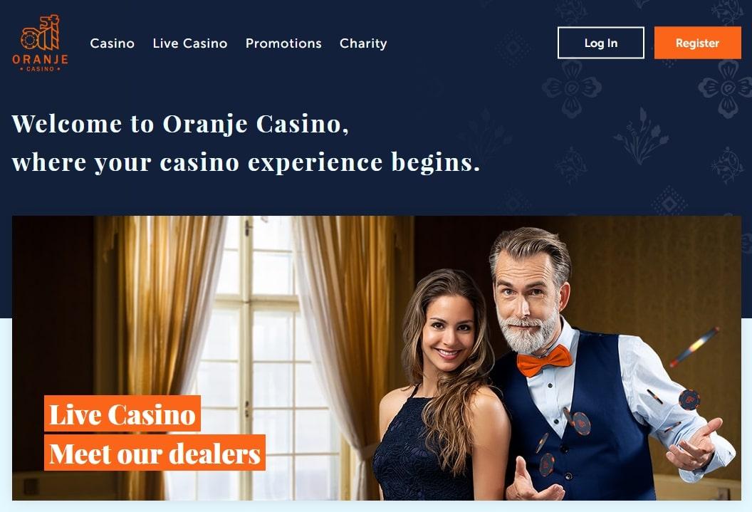 Oranje casino design