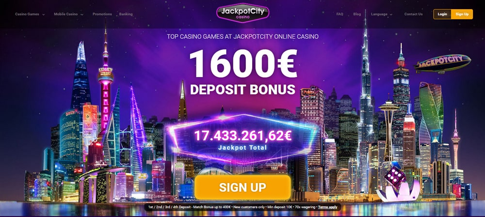 Jackpot City casino is one of the best online casinos out there