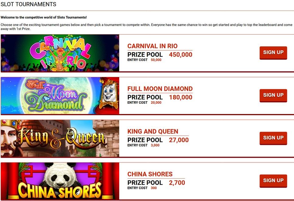 Slot Tournaments San Manuel Casino