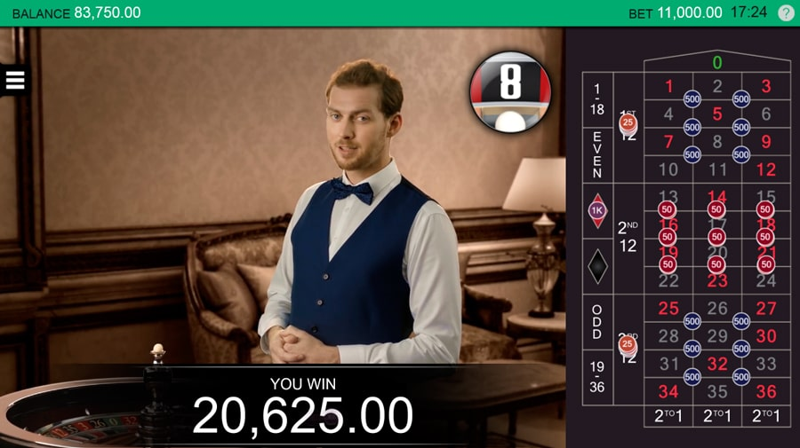 live roulette online free