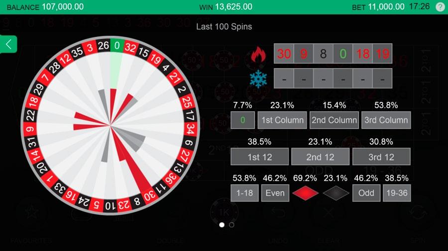 free live roulette no deposit