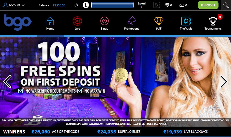 vegas casino bonus codes 2019